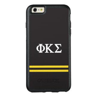 Coque OtterBox iPhone 6 Et 6s Plus Rayure de sport du sigma | de Kappa de phi