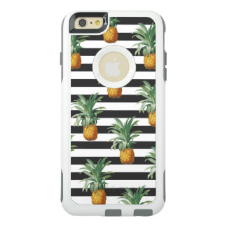 Coque OtterBox iPhone 6 Et 6s Plus rayures d'ananas grises