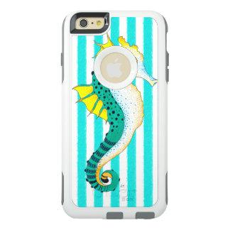 Coque OtterBox iPhone 6 Et 6s Plus rayures de sarcelle d'hiver d'hippocampe