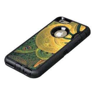 Coque OtterBox iPhone 6 Et 6s Plus Rêves profonds de belle fractale verte d'été Sun