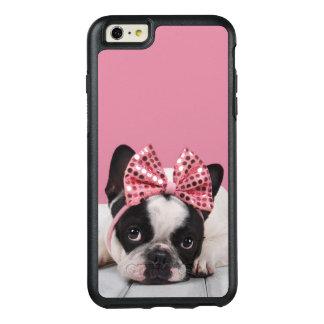 Coque OtterBox iPhone 6 Et 6s Plus Rose de port de bouledogue français