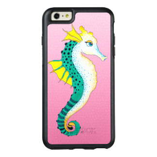 Coque OtterBox iPhone 6 Et 6s Plus rose turquoise d'hippocampe