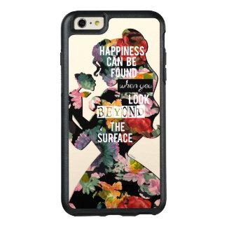Coque OtterBox iPhone 6 Et 6s Plus Silhouette florale de belle de la princesse  