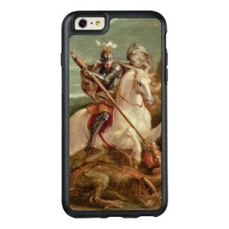 Coque OtterBox iPhone 6 Et 6s Plus St George massacrant le dragon, (huile sur le