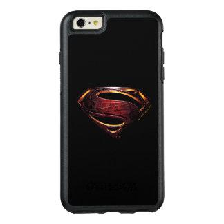 Coque OtterBox iPhone 6 Et 6s Plus Symbole métallique de la ligue de justice |