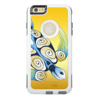 Coque OtterBox iPhone 6 Et 6s Plus Tortue de mer sur le jaune