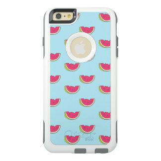 Coque OtterBox iPhone 6 Et 6s Plus Tranches de pastèque sur le motif turquoise