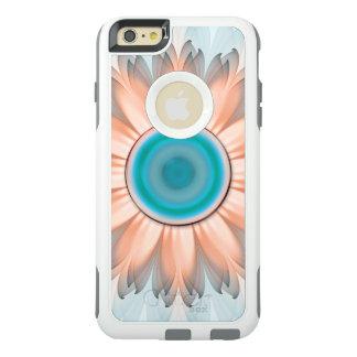Coque OtterBox iPhone 6 Et 6s Plus Turquoise propre et pure et fleur blanche de