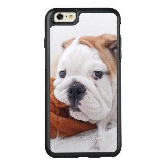 Coque OtterBox iPhone 6 Et 6s Plus Un chiot anglais de bouledogue jouant avec un