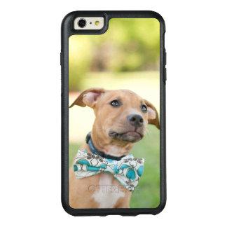 Coque OtterBox iPhone 6 Et 6s Plus Un chiot de Brown porte une cravatte colorée d'arc