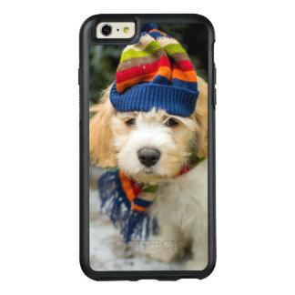 Coque OtterBox iPhone 6 Et 6s Plus Un chiot doux de Cavachon dans un chapeau et une