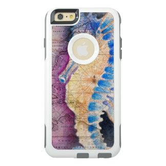 Coque OtterBox iPhone 6 Et 6s Plus Vieille carte d'hippocampe