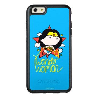 Coque OtterBox iPhone 6 Et 6s Plus Vol de femme de merveille de Chibi avec le lasso