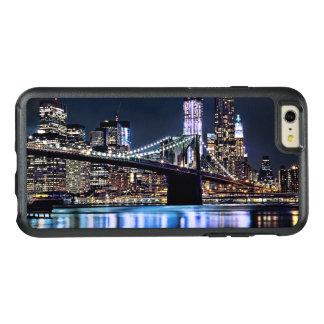 Coque OtterBox iPhone 6 Et 6s Plus Vue de la réflexion de pont de Brooklyn de New