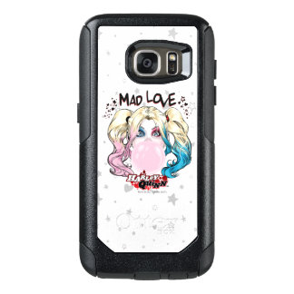 Coque OtterBox Samsung Galaxy S7 Amour fol Harley Quinn de Batman | mâchant le