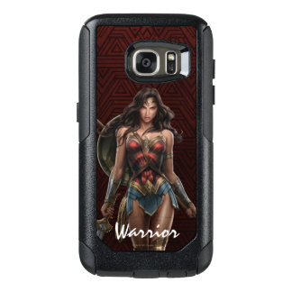 Coque OtterBox Samsung Galaxy S7 Art comique Bataille-Prêt de femme de merveille