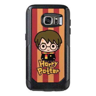 Coque OtterBox Samsung Galaxy S7 Art de personnage de dessin animé de Harry Potter