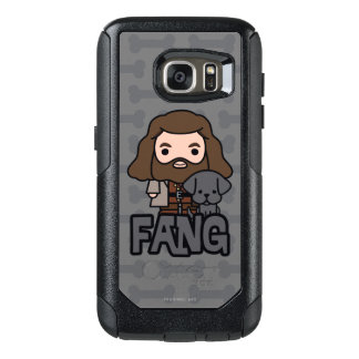 Coque OtterBox Samsung Galaxy S7 Bande dessinée Hagrid et art de caractère de croc