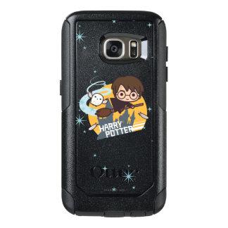 Coque OtterBox Samsung Galaxy S7 Bande dessinée Harry et vol de Hedwig après