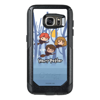Coque OtterBox Samsung Galaxy S7 Bande dessinée Harry, Ron, et vol de Hermione en