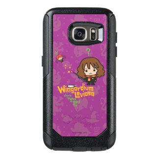 Coque OtterBox Samsung Galaxy S7 Bande dessinée Hermione et charme de Ron