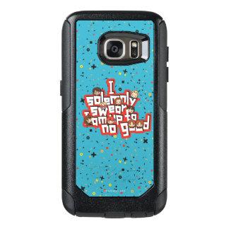 """Coque OtterBox Samsung Galaxy S7 Bande dessinée """"je jure solennellement"""" le"""