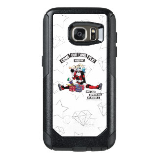 "Coque OtterBox Samsung Galaxy S7 Batman | Harley Quinn ""sortent et jouent le"