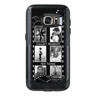 Coque OtterBox Samsung Galaxy S7 Bobine de film noire et blanche