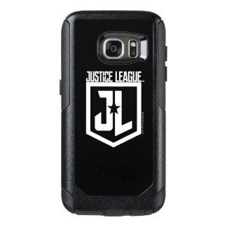 Coque OtterBox Samsung Galaxy S7 Bouclier de la ligue de justice | JL