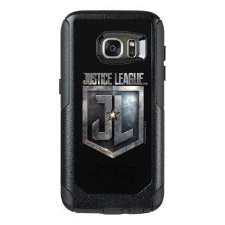 Coque OtterBox Samsung Galaxy S7 Bouclier métallique de la ligue de justice | JL