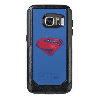 Coque OtterBox Samsung Galaxy S7 Brosse de la ligue de justice | et symbole tramé