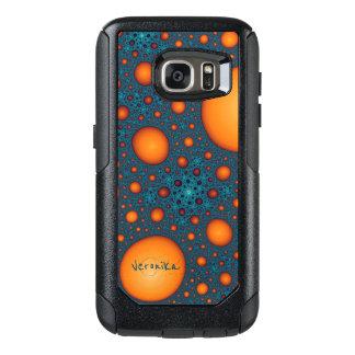 Coque OtterBox Samsung Galaxy S7 Bulles oranges