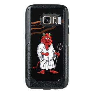 Coque OtterBox Samsung Galaxy S7 Caisse de la galaxie S7 de Samsung avec le diable