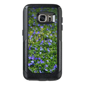 Coque OtterBox Samsung Galaxy S7 Caisse pourpre de téléphone de fleur