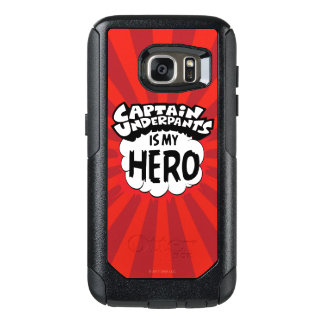 Coque OtterBox Samsung Galaxy S7 Capitaine Underpants   mon héros