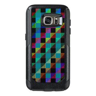 Coque OtterBox Samsung Galaxy S7 Carrés colorés à doses égales