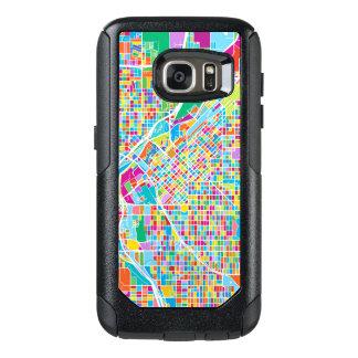 Coque OtterBox Samsung Galaxy S7 Carte colorée de Denver