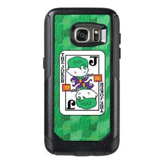 Coque OtterBox Samsung Galaxy S7 Carte de jeu de joker de Chibi