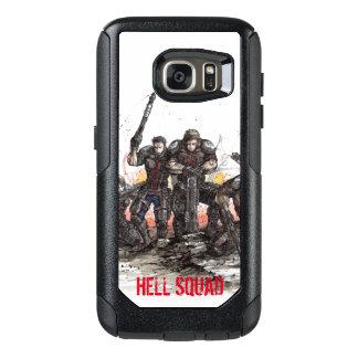 Coque OtterBox Samsung Galaxy S7 Cas d'Otterbox de peloton d'enfer