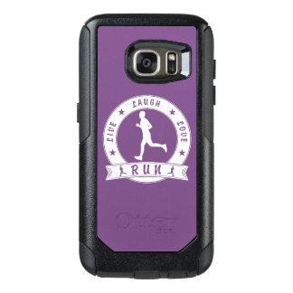 Coque OtterBox Samsung Galaxy S7 Cercle masculin de rire de COURSE vivante d'amour