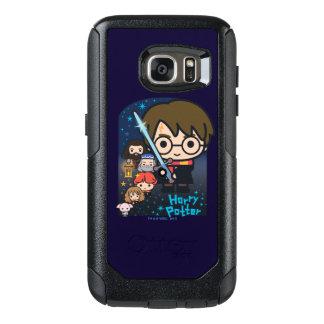 Coque OtterBox Samsung Galaxy S7 Chambre de Harry Potter de bande dessinée des