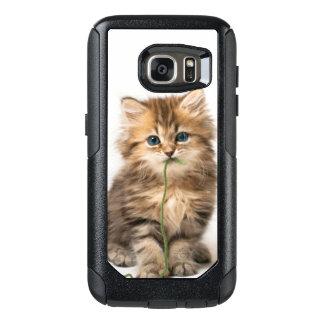 Coque OtterBox Samsung Galaxy S7 Chaton avec le fil vert