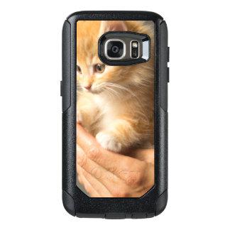 Coque OtterBox Samsung Galaxy S7 Chaton doux dans la bonne main