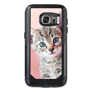 Coque OtterBox Samsung Galaxy S7 Chaton mignon avec les yeux bleus