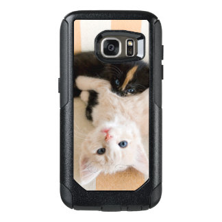 Coque OtterBox Samsung Galaxy S7 Chatons blancs et noirs