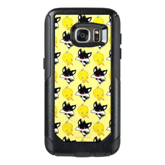 Coque OtterBox Samsung Galaxy S7 Chibi SYLVESTER™ chassant TWEETY™