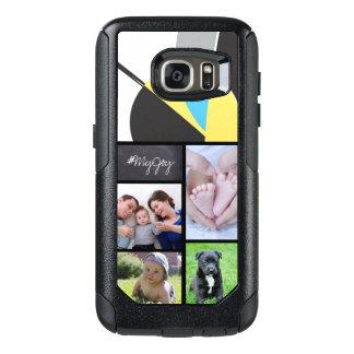 Coque OtterBox Samsung Galaxy S7 Collage fait sur commande 5 photos avec le texte,