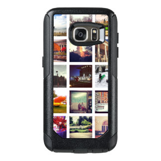 Coque OtterBox Samsung Galaxy S7 Collage fait sur commande de photo d'Instagram