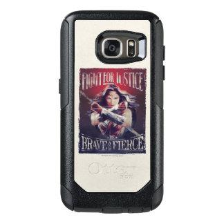 Coque OtterBox Samsung Galaxy S7 Combat de femme de merveille pour la justice