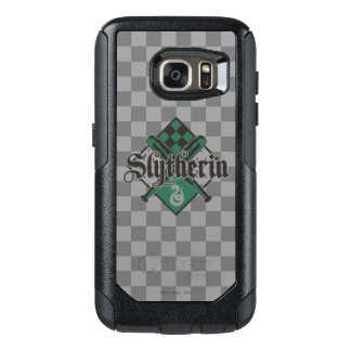 Coque OtterBox Samsung Galaxy S7 Crête de Harry Potter | Slytherin QUIDDITCH™
